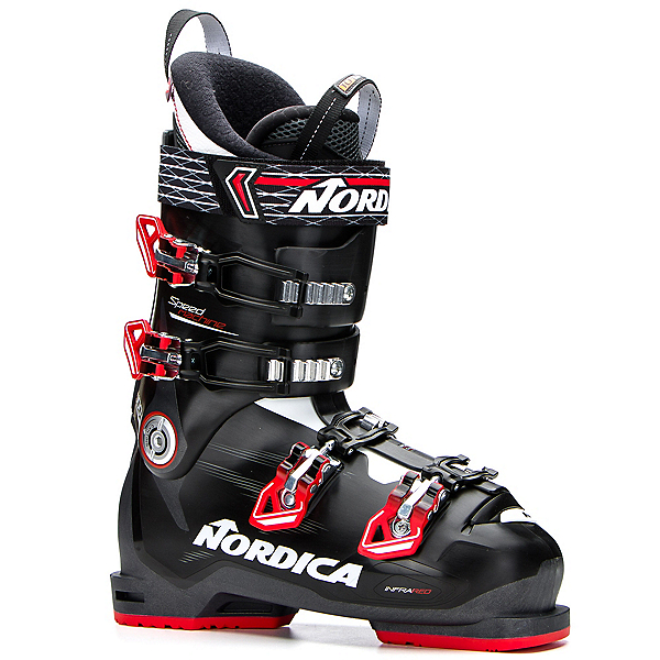 Nordica Speedmachine 100 Ski Boots, Black-Red-Anthracite, 600