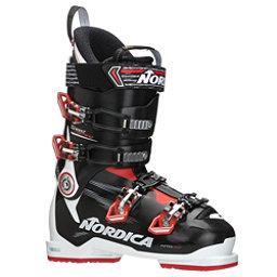 Nordica Speedmachine 100 Ski Boots 2018, White-Black-Red, 256