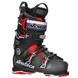 Nordica N-Move 120 Ski Boots, Black Transparent-Red, 256