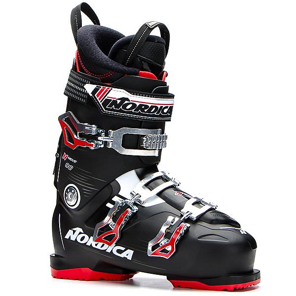 Nordica N-Move 80 Ski Boots, Black-Red, 600