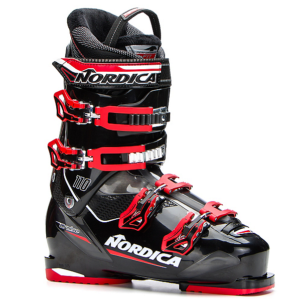 Nordica Cruise 110 Ski Boots 2018, Black-Red, 600