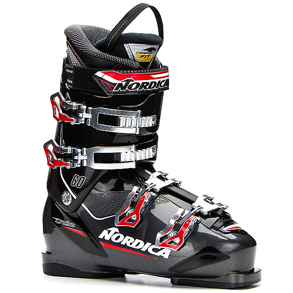Nordica Cruise 60 Ski Boots 2018, Black-Grey, 600