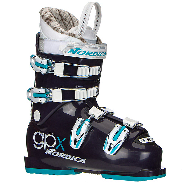 Nordica GPX Team Girls Ski Boots 2018, , 600