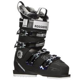 Rossignol Pure Elite 80 Womens Ski Boots, Black-Purple, 256