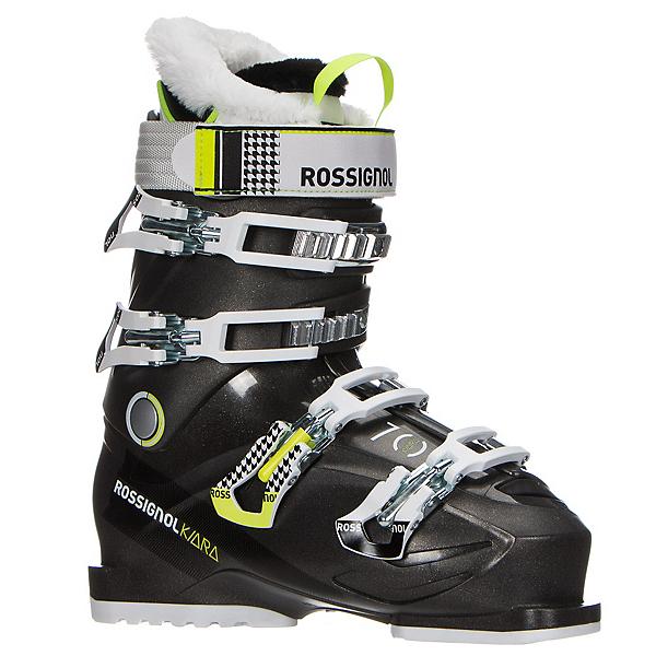 Rossignol Kiara 70 Womens Ski Boots, Black-Metal, 600