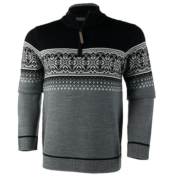 Obermeyer Bryce 1/4 Zip Mens Sweater, Light Heather Grey, 600