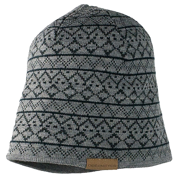 Obermeyer Mountain Knit Hat, Light Heather Grey, 600