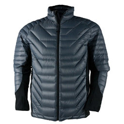 Obermeyer Kinetic Down Hybrid Mens Jacket, Graphite, 256