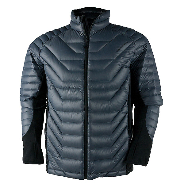 Obermeyer Kinetic Down Hybrid Mens Jacket, Graphite, 600