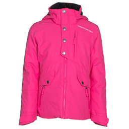 Obermeyer Kenzie Teen Girls Ski Jacket, Electric Pink, 256