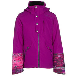 Obermeyer Kenzie Teen Girls Ski Jacket, Violet Vibe, 256