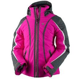 Obermeyer Dyna Teen Girls Ski Jacket, Electric Pink, 256