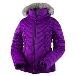 Obermeyer Aisha w/ Faux Fur Girls Ski Jacket, Violet Vibe, 256
