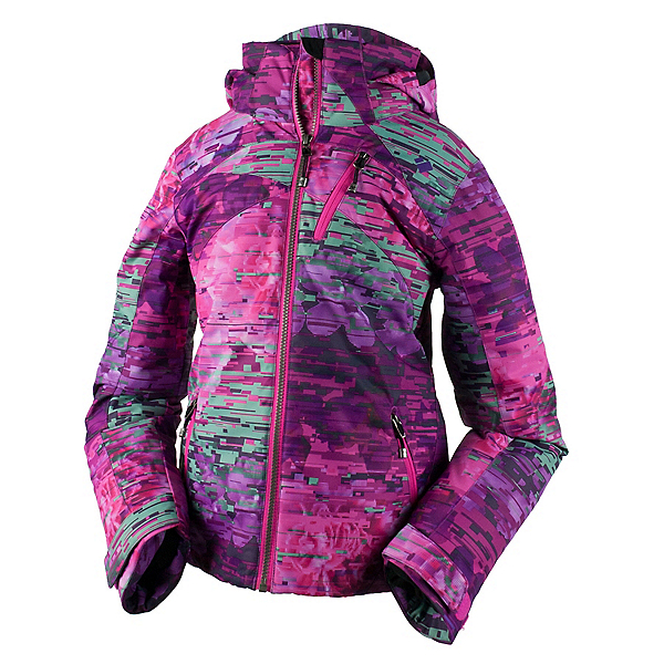 Obermeyer Tabor Print Teen Girls Ski Jacket 2017