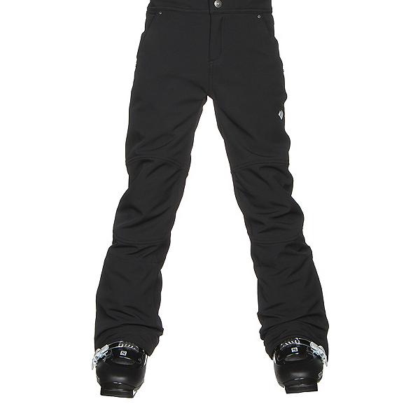 Obermeyer Jolie Softshell Teen Girls Ski Pants, Black, 600