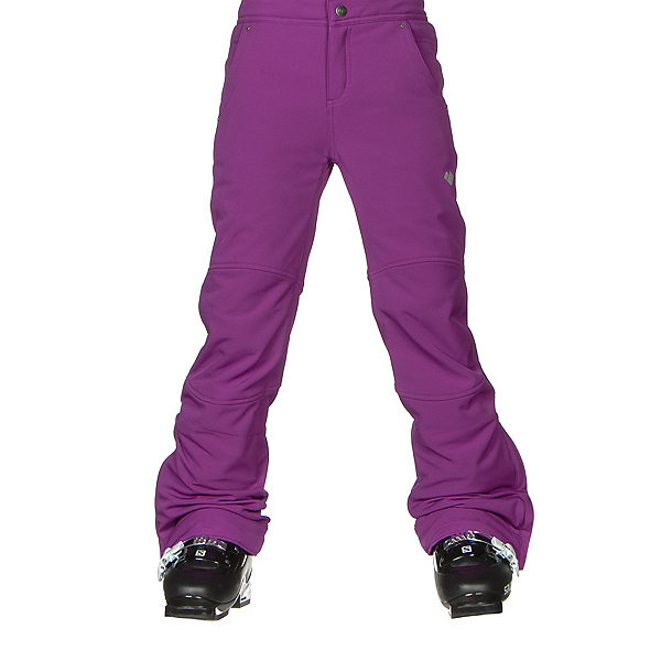 Obermeyer Jolie Softshell Teen Girls Ski Pants, Violet Vibe, 600