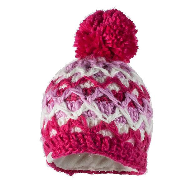 Obermeyer Averee Knit Toddler Girls Hat, Sugar Berry, 600