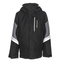 Obermeyer Fleet Teen Boys Ski Jacket, Black, 256
