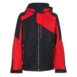Obermeyer Outland Teen Boys Ski Jacket, Red, 256