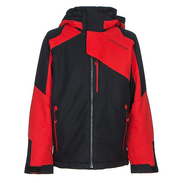 Obermeyer Outland Teen Boys Ski Jacket, Red, 600