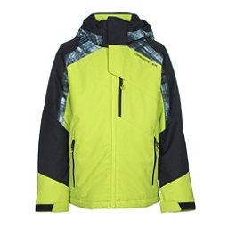 Obermeyer Outland Teen Boys Ski Jacket, Screamin Green, 256
