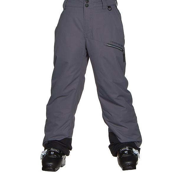 Obermeyer Brisk Teen Boys Ski Pants, Graphite, 600