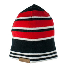 Obermeyer Traverse Knit Toddler Boys Hat, Red, 256
