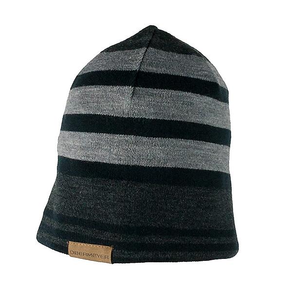 Obermeyer Traverse Knit Boys Hat, Light Heather Grey, 600