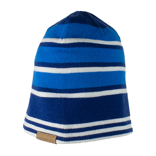 Obermeyer Traverse Knit Boys Hat, Stellar Blue, 600