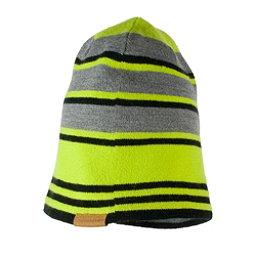 Obermeyer Traverse Knit Boys Hat, Green Flash, 256