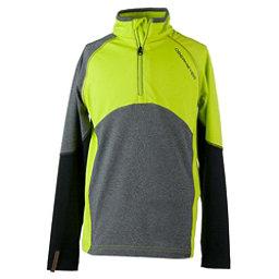 Obermeyer Transport Tech Teen Boys Long Underwear Top, Green Flash, 256