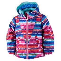 Obermeyer Ashlyn Toddler Girls Ski Jacket, Scribble Stripe, 256