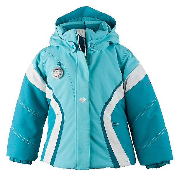 Obermeyer Aria Toddler Girls Ski Jacket, Blue Reef, 600