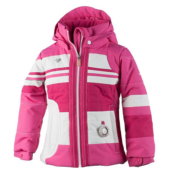 Obermeyer Snowdrop Toddler Girls Ski Jacket, French Rose, 600