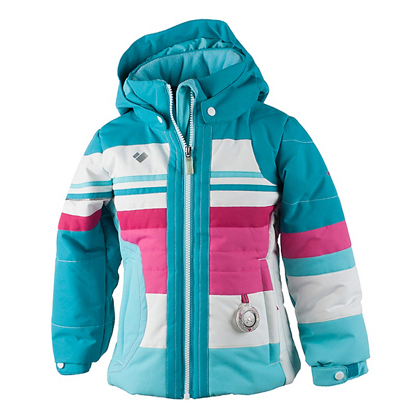Obermeyer Snowdrop Toddler Girls Ski Jacket, Blue Reef, 600