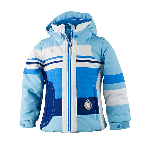 Obermeyer Snowdrop Toddler Girls Ski Jacket, Bleu Sky, 600