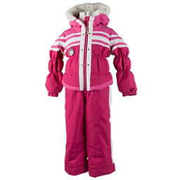Obermeyer Skitter Toddler Girls One Piece Ski Suit, Glamour Pink, 256