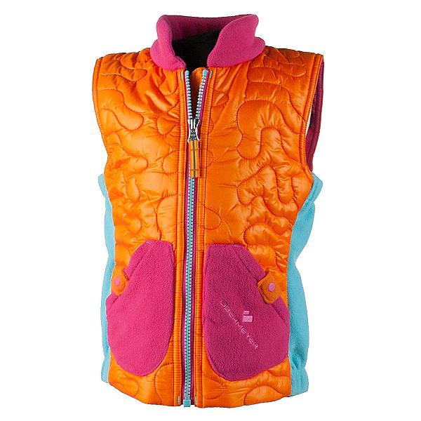 Obermeyer Snuggle Toddler Girls Vest, Tangerine, 600