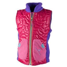 Obermeyer Snuggle Toddler Girls Vest, Glamour Pink, 256