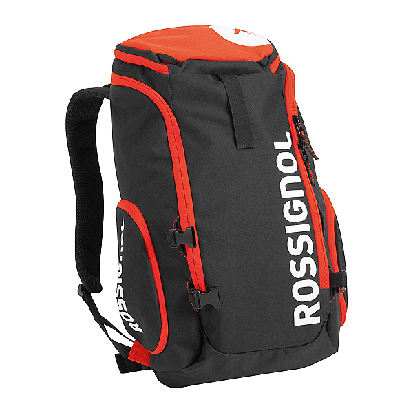 Rossignol Tactic Boot Bag Pack Ski Boot Bag 2018, Black-Red, 600
