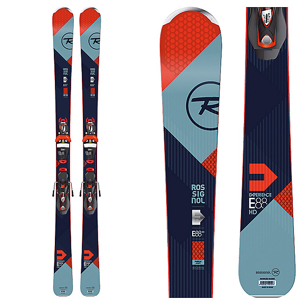 Rossignol Experience 88 HD Skis with SPX 12 Bindings 2017, , 600