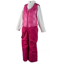 Obermeyer Chacha Toddler Girls Ski Bib, Glamour Pink, 256