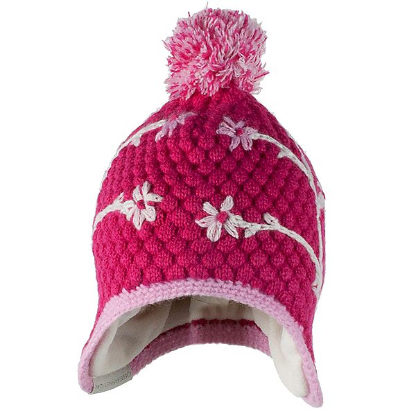 Obermeyer Flower Pop Knit Toddler Girls Hat, , 600