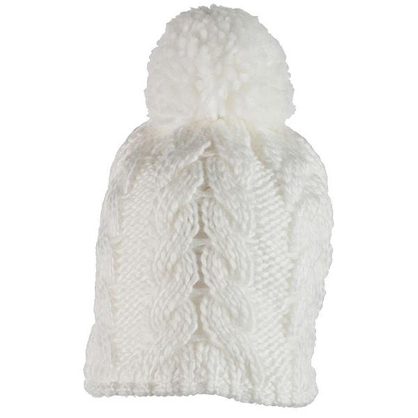 Obermeyer Livy Knit Toddler Girls Hat, White, 600