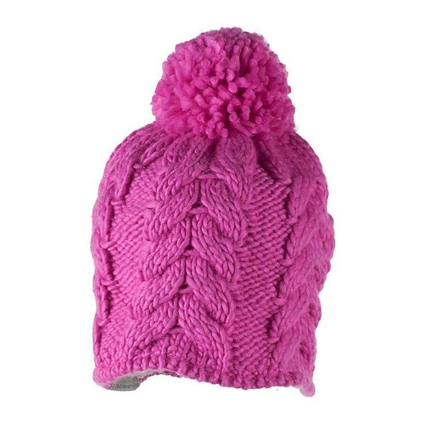 Obermeyer Livy Knit Toddler Girls Hat, Peony Pink, 600