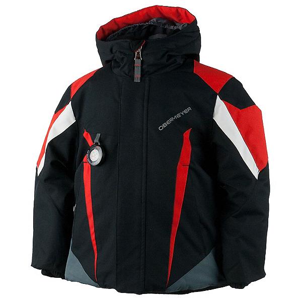 Obermeyer Raptor Toddler Boys Ski Jacket, Black, 600