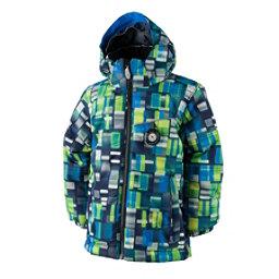 Obermeyer Stealth Toddler Boys Ski Jacket, Moving Squares, 256