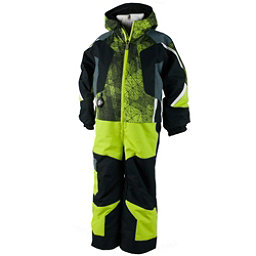 Obermeyer Vortex Toddler Boys One Piece Ski Suit, Screamin Green, 256
