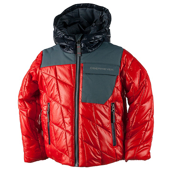 Obermeyer Catapult Toddler Boys Ski Jacket, Red, 600
