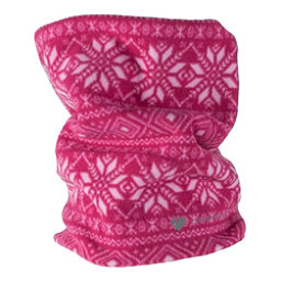 Obermeyer Steeps Pro 100WT Teen Neck Warmer, Pink Snowflake, 256